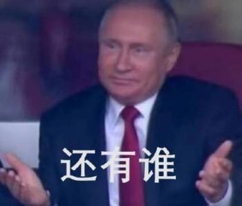 普金摊手表情包_世界杯普金表情包图片(1)